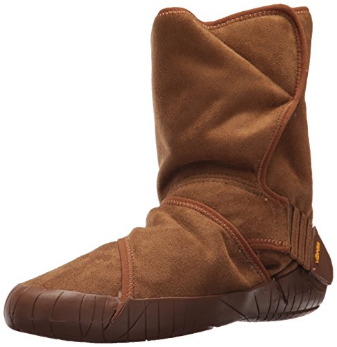 Vibram FiveFingers Unisex Mid-Boot Classic Shearling Klassische Stiefel, Braun (Camel Brown Camel Brown), 46/47 EU