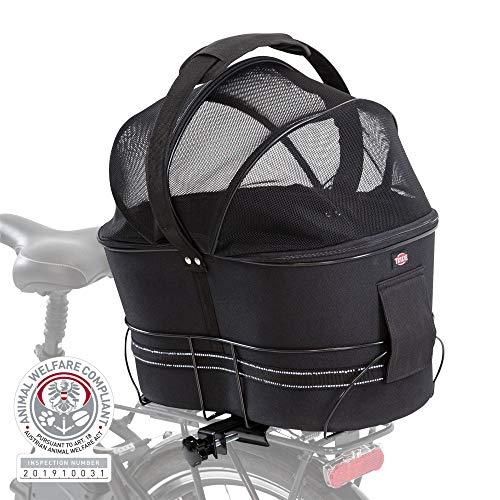 TRIXIE 13111 Fahrradkorb für schmale Gepäckträger