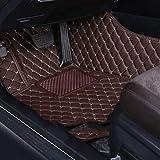 YOWAX para Mitsubishi ASX 2020 Alfombrillas De Cuero Artificial para El Piso del AutomóVil Almohadillas Impermeables para Los Pies para Alfombra del AutomóVil