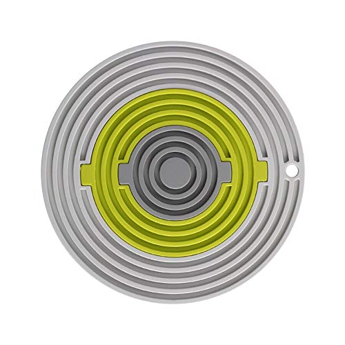 Portavasos Soportes de olla de silicona multipropósito, trivelets, abrelatas de frascos, reposapiés, protección extra gruesa, herramienta de cocina multiusos, 3 en 1 (Color : Si)