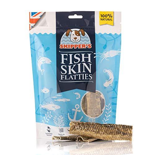 SKIPPER'S Fish Skin Flatties/Sti...