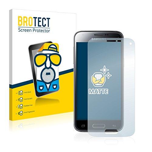 BROTECT 2X Entspiegelungs-Schutzfolie kompatibel mit Samsung Galaxy S5 Mini Duos Bildschirmschutz-Folie Matt, Anti-Reflex, Anti-Fingerprint