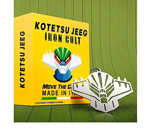 Ciondolo Metallo TESTA di JEEG ROBOT d'Acciaio 7cm IRON CULT Ufficiale Originale GO NAGAI