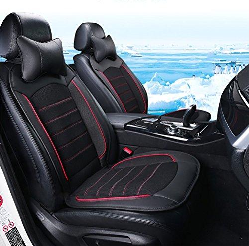 DIELIAN Sitzauflage Für Autositz, 3 Kühl-Stufen - Schnelles Abkühlen, Angenehmes Dauerkühlen, Anschlussfertig Für 12-Volt Zigarettenanzünder (1 Stück),Black