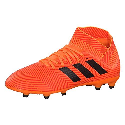 Adidas Kinder nemeziz 18.3Ground Stollen Fußball Stiefel Fußballschuh (Hartböden, Kind, Unisex, Orange, bedruckt), 36.5