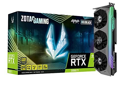 ZOTAC Gaming GeForce RTX 3080 Ti AMP Holo 12GB GDDR6X 384-bit 19 Gbps PCIE...
