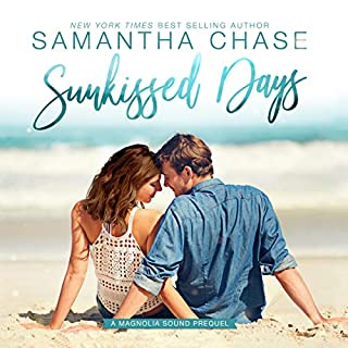 Sunkissed Days audiobook cover art