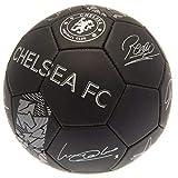 Chelsea FC Phantom Signature Soccer Ball (Size 5) (Black)