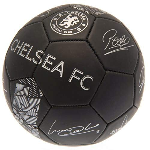 Club Licensed Arsenal Signature Ball - Black/Silver (Size 5), One Size