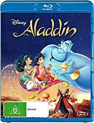 Image: Aladdin Blu-ray | Scott Weinger (Actor), Robin Williams (Actor), Ron Clements (Director), John Musker (Director)