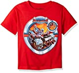 Skylanders Little Boys Skylanders Superchargers Racing T-shirt, Red, 4