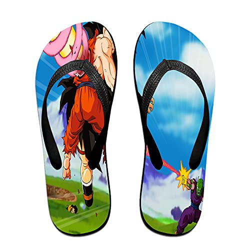 Xiaoxian Dra-gon Ba-ll Z 83 - Zapatillas de playa para interiores, color Amarillo, talla Small X-ancho