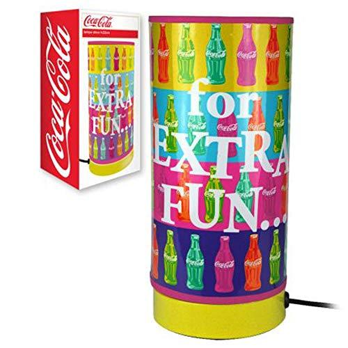 Kleine Lampe Röhre Coca-Cola, mehrfarbig