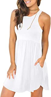 White Swimsuit Cover Up Dress