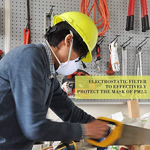 Atemschutzmaske FFP2 Maske Atemschutz Mundschutz Atemschutzmaske zur Prophylaxe Schmierinfektionen & Tröpfcheninfektionen (1PCS) - 11