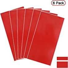 Xlnt Engraving Double Color Sheet, Red/Bright White (12