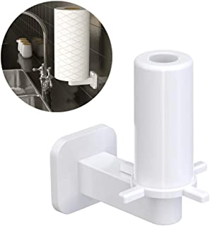 Forest's Summer Self Adhesive Floating Wall Toilet Paper/Paper Towel Holder (White)