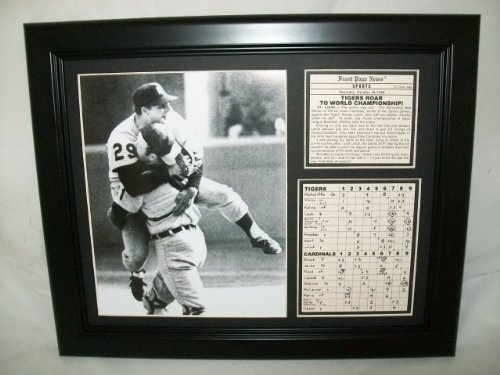 11x14 Framed & Matted 1968 Detroit Tigers World Series Champs 8X10 PHOTO