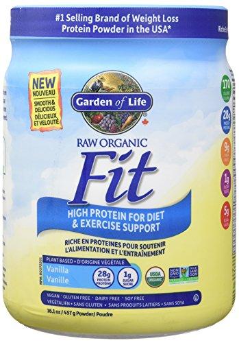 Garden of Life Raw Organic Fit Protein Shake Vanilla 457g