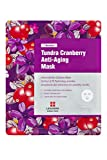 [Leaders Insolution] 7 Wonders Tundra Cranberry Anti-Aging Coconut Gel Bio-Cellulose Mask 10Pk