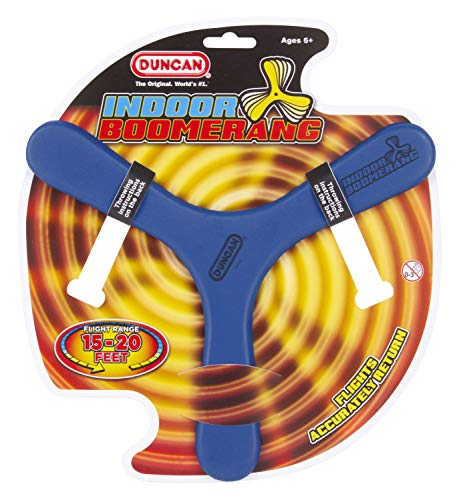 Duncan Toys Indoor Booma, Boomerang Toy Varying Colors