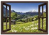 Artland Leinwandbild Wandbild Bild auf Leinwand 130x90 cm