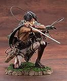 Figura de Ataque a los Titanes Estatua de Ataque a los Titanes Figura de Batalla sangrienta de Ackerman Levi