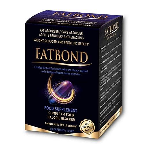 Fatbond – Weight Loss Supplement - Appetite Reducer - Carb Blocker 90...