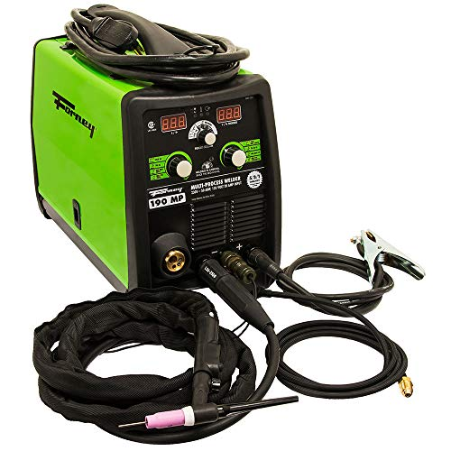 Forney 324 MIG/Stick/TIG 3-in-one 190-Amp Welder, 120/230-Volt, Green
