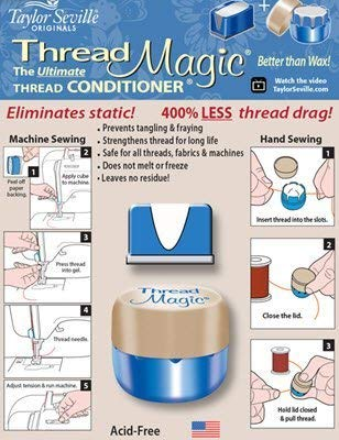 Thread Magic Thread Conditioner Combo (Clear)