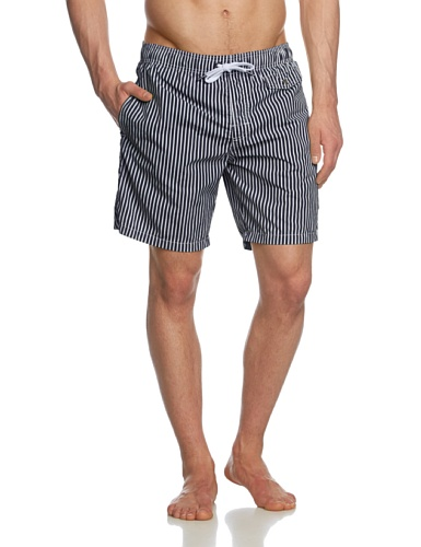 Marc O' Polo Bodywear - Short Homme - Bleu - Blau (Midnight Navy) - FR : Large (Taille Fabricant : L) (Brand size: L)