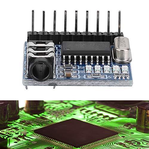 Módulo decodificador de Voz, A120 MT8870 DTMF Módulo decodificador de Voz Decodificador de Audio telefónico Decodificación de Voz, Cinco Indicadores LED, Mano de Obra Fina, multifrecuencia
