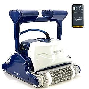 DOLPHIN Blue Maxi 65 Robot di pulizia per piscina – Robot automatico per pulizia di fondo e pareti, sistema di navigazione preciso Clever Clean + Gyro, controllo remoto App Mobile WiFi