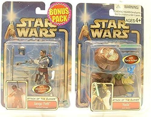 Bonus Pack  Jango Fett & Yoda