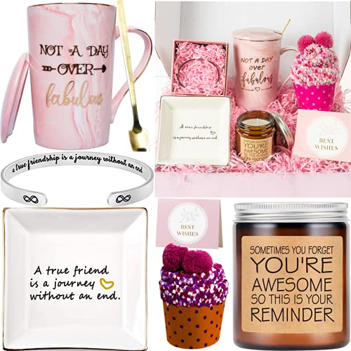 Gifts for Women - Birthday Gift Set for Mom Daughter Sister Best Friend Wife Grandma Coworker Teacher Appreciation Congratulations Graduations |Surprise Package for Her Filled with Fun Gift Ideas