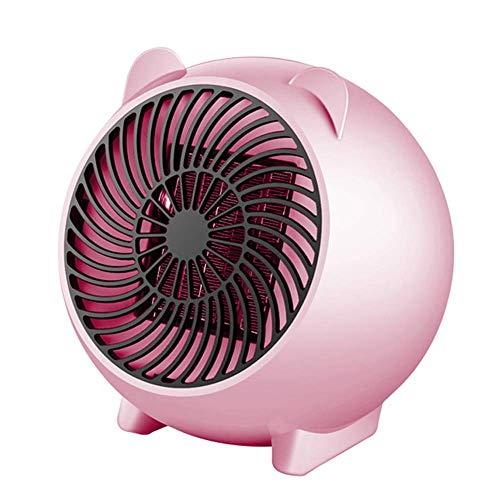 WZLJW Mini Heater, bewegliche Karikatur Schreibtisch Personal elektrische Heizung mit Low Noise, Umkippen Überhitzungsschutz, Heat Up Schnell, perfekt for Home Office Schlafzimmer DCZKS