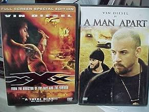XXX , a Man Apart : Vin Diesel Action 2 Pack Collection