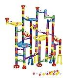 WTOR 216Pcs Marble Run Super Set Toys Marble...