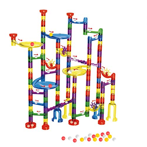 Marble Runs Toy for 3 4 5 6 7 8 9 10 Years Old Kids Boys Girls Gift Mimax Marble Run 265PCS