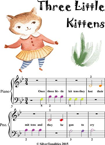 Little Mother Goose for Beginner Piano (English Edition)