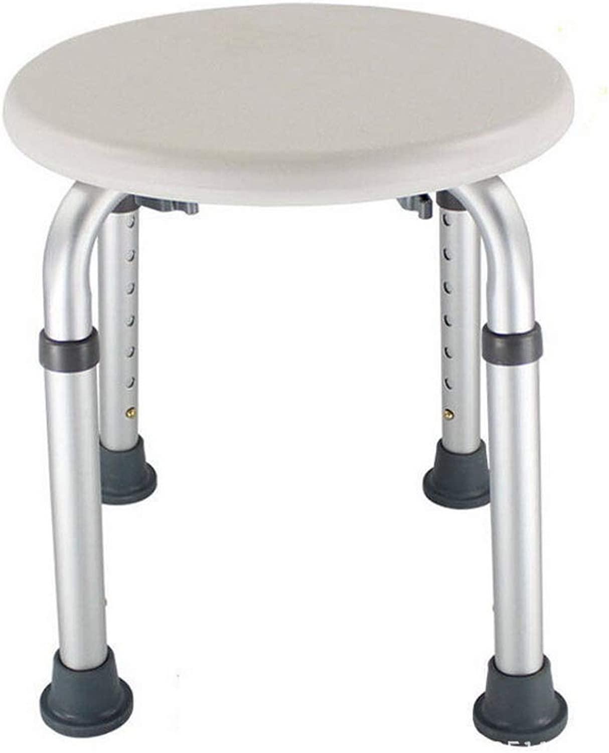 Shower Seat, Simple Adjustable Height Shower Stool, Elderly Pregnant Disabled Chair