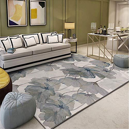 Tappetti tappeto moderno Tappeto decorativo per soggiorno con motivo a loto con graffiti a...
