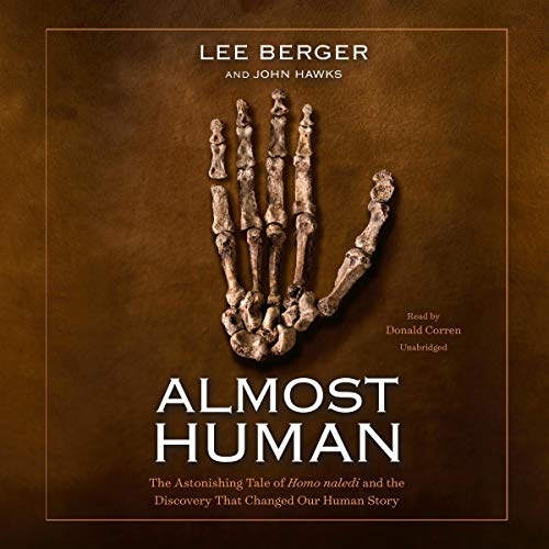 Almost Human audiobook cover art