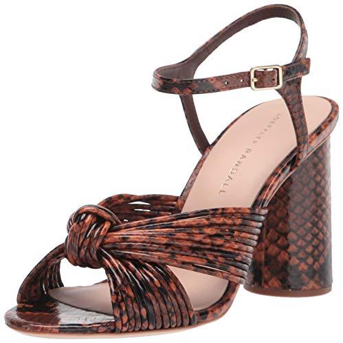 Loeffler Randall Women's CECE-EMSK Heeled Sandal, Chestnut, 7