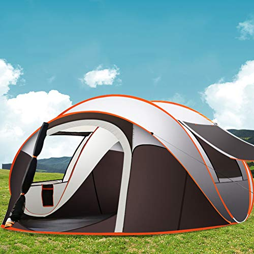 JFSKD Camping Tent, Automatic Rainproof Tent, Three outdoor use modes, suitable for picnic, fishing, night fishing, camping, etc. (suitable for 5-8 people)