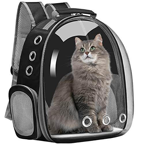 SMARTY Cat Carrier Backpack, Pet Carrier Backpack and Space Capsule Front...
