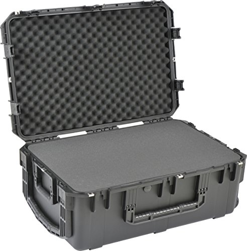 SKB 3I-3019-12BC iSeries 30 1/2' x 19 1/2' x 12' - Cubed Foam w/Wheels, Black