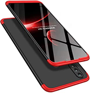 جراب COTDINFORCA لهاتف Samsung Galaxy M20، جراب 3 في 1 رفيع للغاية من البولي كربونات الصلب فائق النحافة وفائق النحافة وواقية من الصدمات للجسم بالكامل لهاتف Samsung Galaxy M20 (20A++).