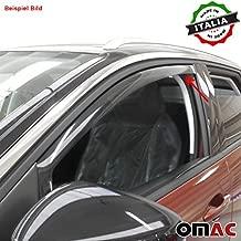Omac GmbH F/ür Ranger Mazda BT50 Windabweiser Regenabweiser 2 TLG Satz vorne 2007-2012
