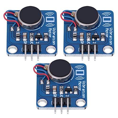 Modulo motore a vibrazione 3 pezzi, DC5 V, 9000 giri/min, sensori di vibrazione per progetti fai da te.
